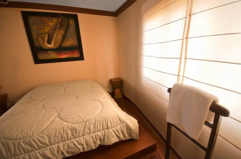 La Loge de la Comédie, La Paz, Bolivie, chambre