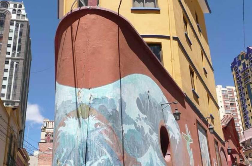 La Loge de la Comédie, La Paz, Bolivie, extérieur
