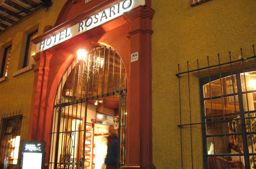 Rosario Hotel, La Paz, Bolivie, extérieur