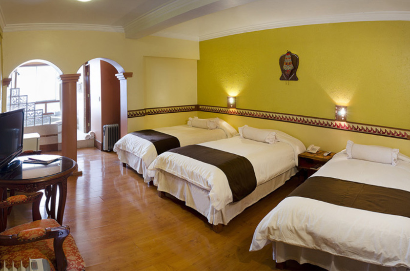 Taypikala cusco chambre triple slideshow