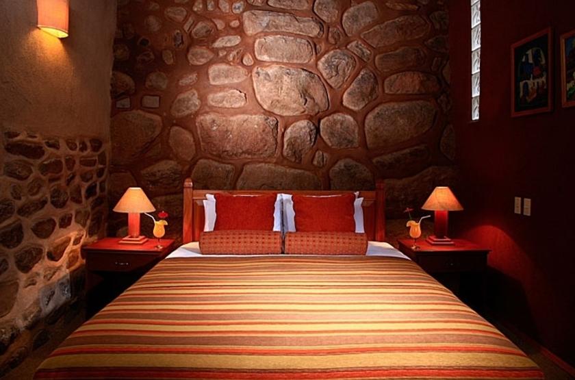 lléeSan Agustin Monasterio Recoleta, Vallée Sacrée, Pérou, chambre