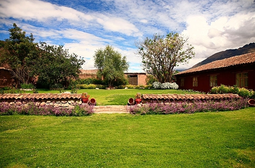 lléeSan Agustin Monasterio Recoleta, Vallée Sacrée, Pérou, jardins