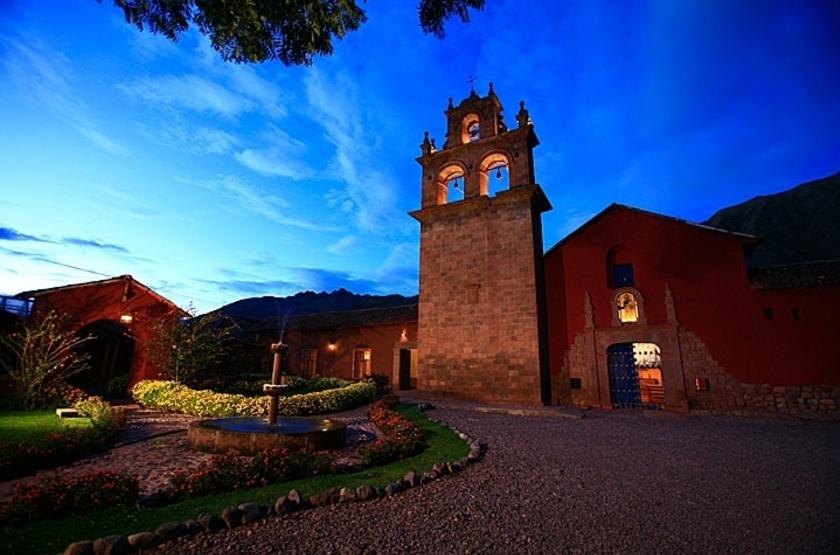 lléeSan Agustin Monasterio Recoleta, Vallée Sacrée, Pérou, extérieur