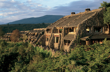 Ngorongoro serena safari lodge sunset listing