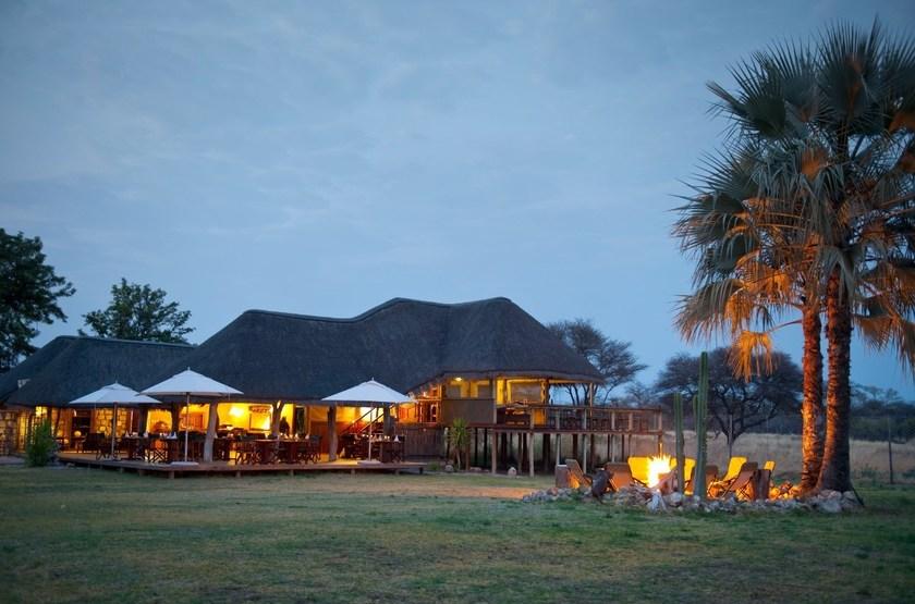 Onguma Bush Camp, Namibie, extérieur