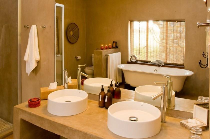 Onguma Bush Camp, Namibie, salle de bains