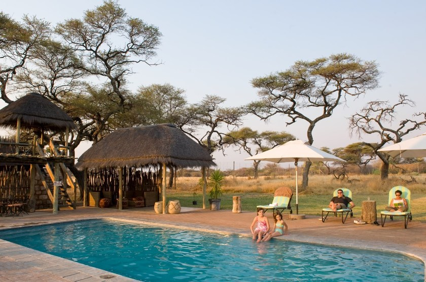 Onguma Bush Camp, Namibie, piscine