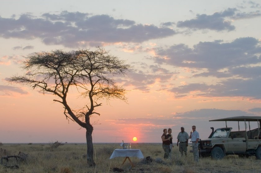Onguma Bush Camp, Namibie, nature drive