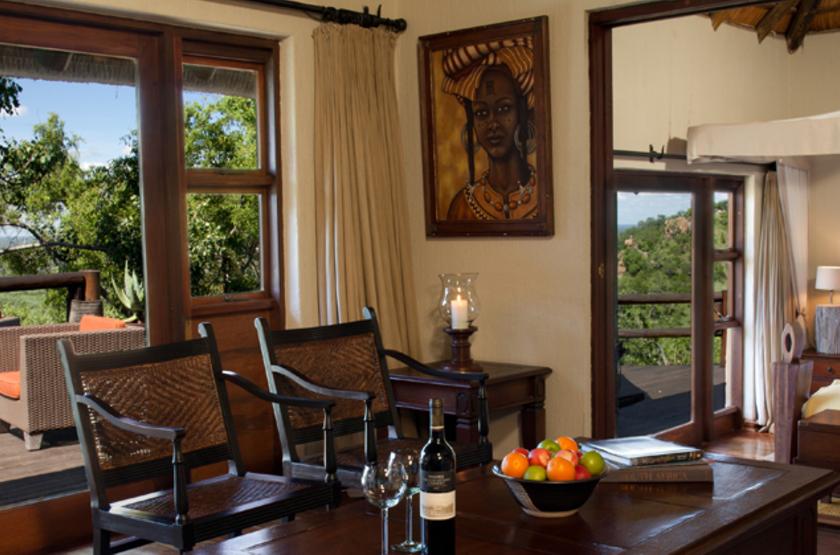 Ulusaba Sir Branson's Lodges, Sabi Sand, Afrique du Sud, chambre