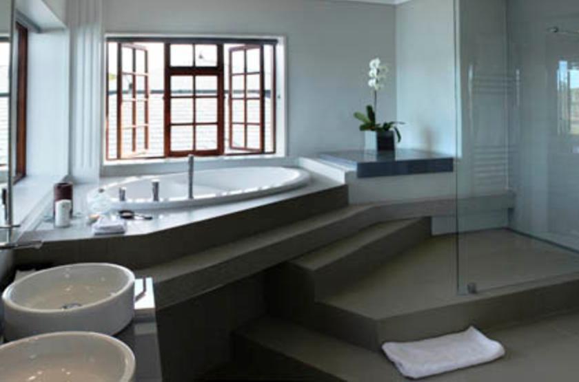 Kanonkop House, Knysna, Afrique du Sud, salle de bains