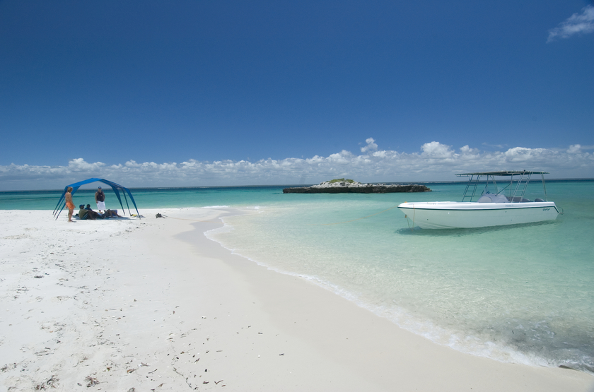 Anantara Bazaruto Island Resort & Spa, Mozambique, plage