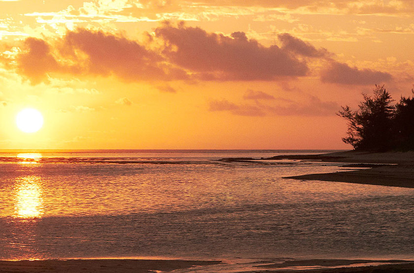 Sofitel So Mauritius Bel Ombre, Ile Maurice, sunset