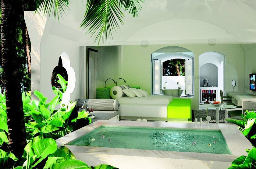 Sofitel So Mauritius Bel Ombre, Ile Maurice, chambre avec  piscine