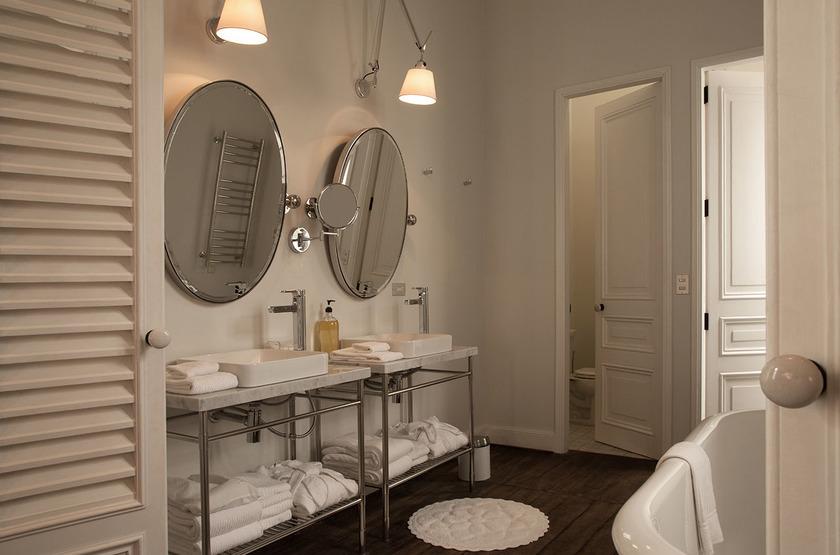 B Hotel, Lima, Pérou, salle de bains