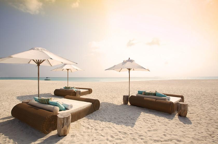 Kanuhura Hotel, Maldives, plage