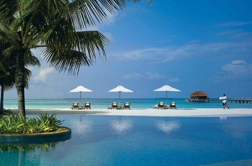 Kanuhura Hotel, Maldives, piscine