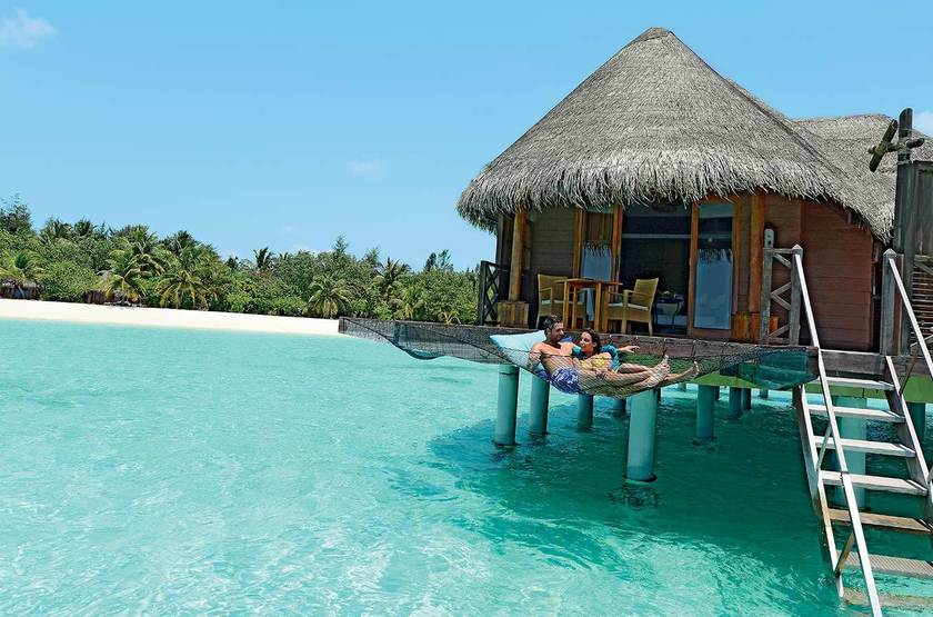 Kanuhura Hotel, Maldives, villa