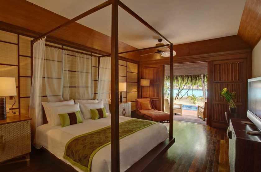 Kanuhura Hotel, Maldives, chambre grand beach villa