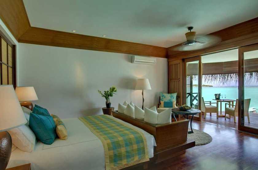 Kanuhura Hotel, Maldives, chambre water villa