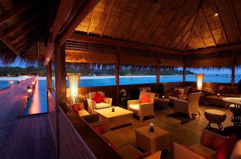 Kanuhura Hotel, Maldives, lounge