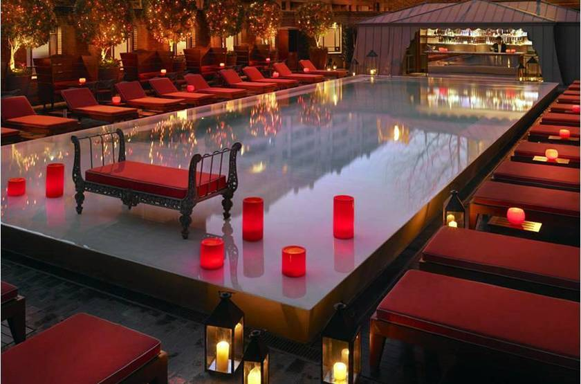 Faena Hotel and Universe, Buenos Aires, Argentine, piscine