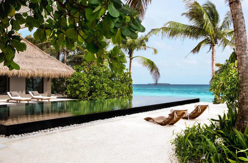 Cheval Blanc Randheli, Maldives, plage