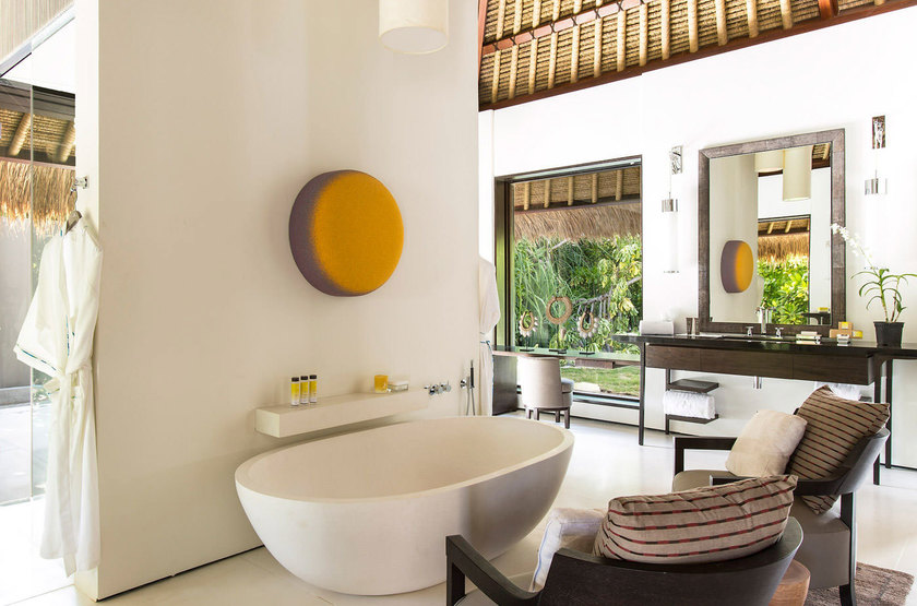 Cheval Blanc Randheli, Maldives, salle de bain