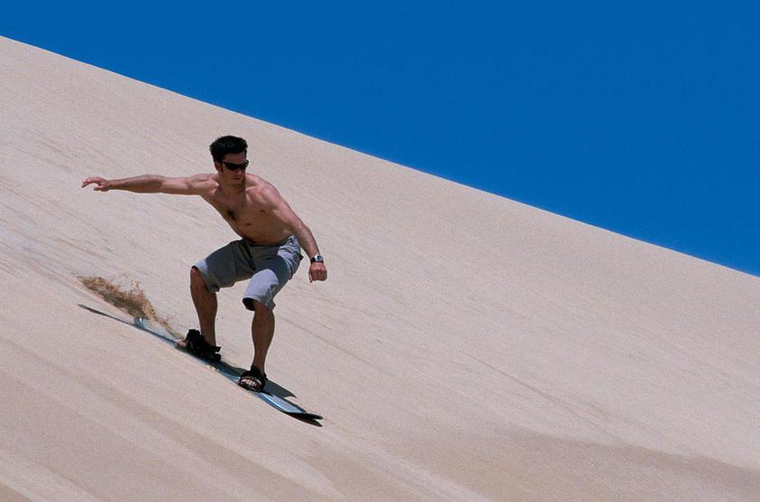 Sandboard slideshow