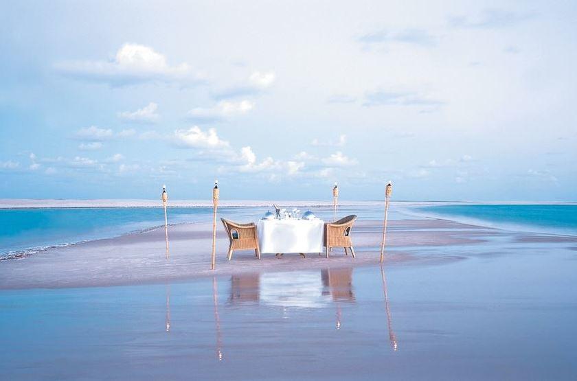 Anantara Bazaruto Island Resort & Spa, Mozambique, pique-nique