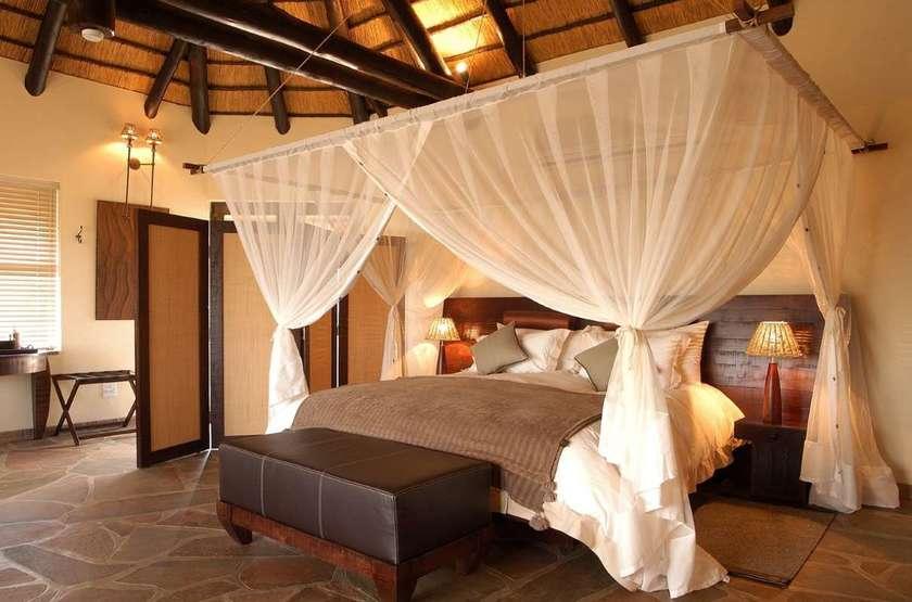 Goche Ganas Nature Réserve et le Wellness Village , Namibie, chambre