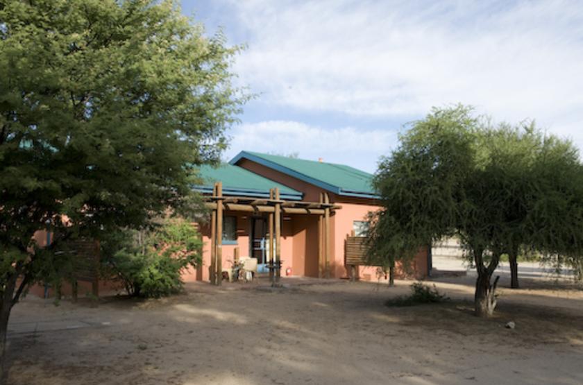 Nossob Rest Camp, Kgalagadi Transfrontier Park, Afrique du Sud