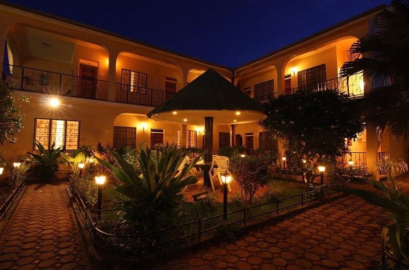 Springlands Hôtel Moshi, Tanzanie, jardin