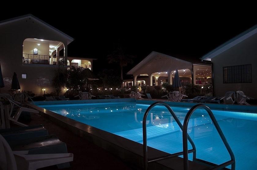 Springlands Hôtel Moshi, Tanzanie, piscine