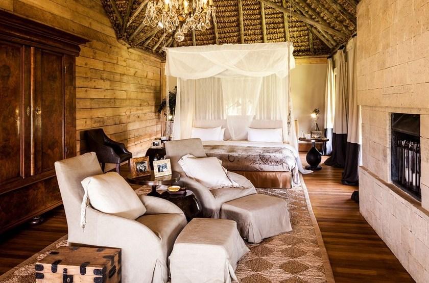 Segera Retreat, Laikipia, Kenya, chambre