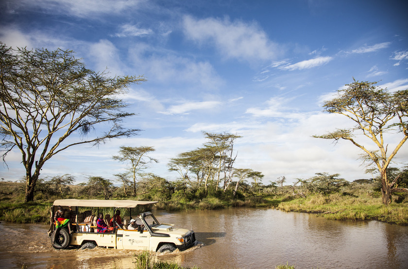 Segera Retreat, Laikipia, Kenya, safari en 4x4