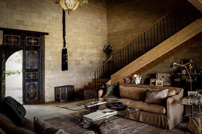 Segera Retreat, Laikipia, Kenya, intérieur maison