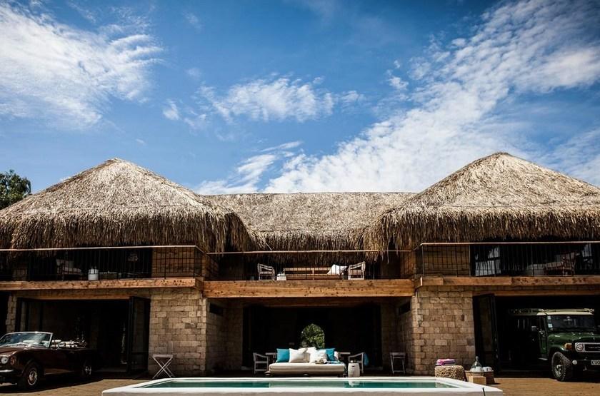 Segera Retreat, Laikipia, Kenya, extérieur maison