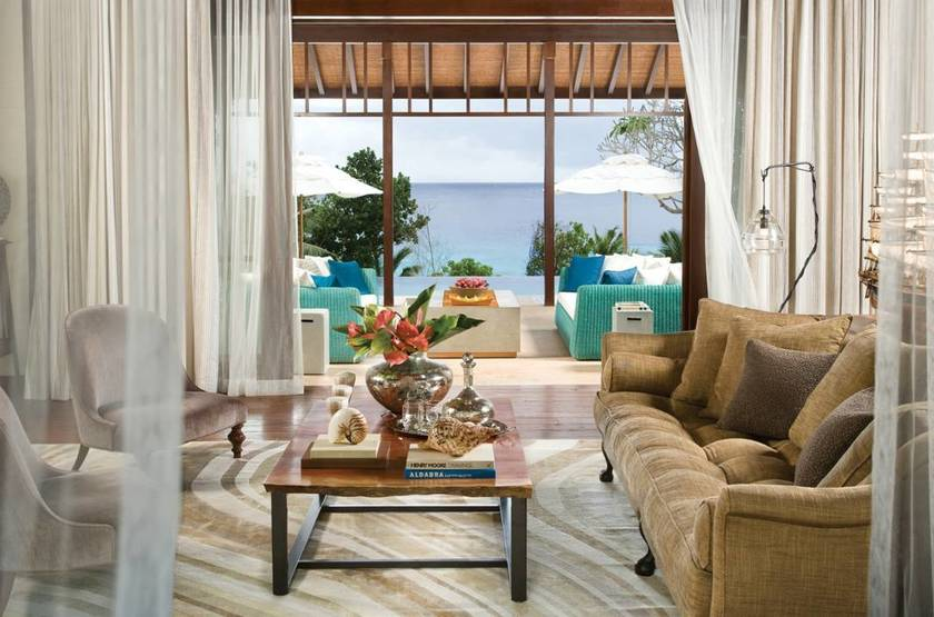 Four Seasons Resort, Mahé, Seychelles, suite