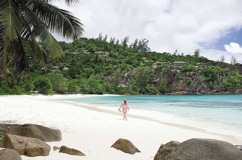 Four Seasons Resort, Mahé, Seychelles, plage