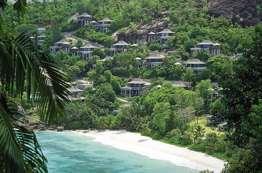 Four Seasons Resort, Mahé, Seychelles, vue d'ensemble