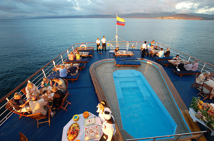 Galapagos Legend, Equateur, piscine