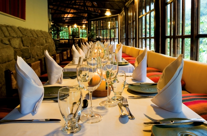 Inkaterra Machu Picchu Pueblo Hotel, Aguascalientes, Pérou, restaurant