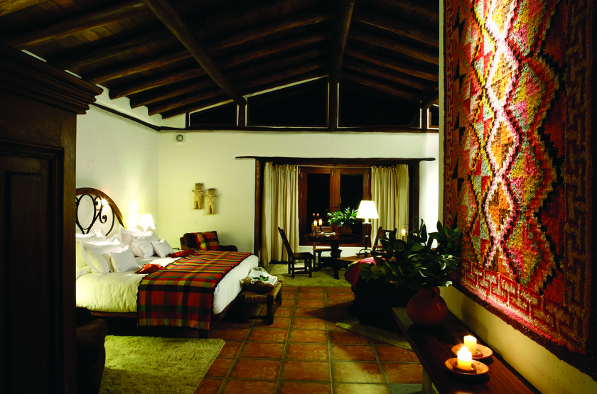 Inkaterra Machu Picchu Pueblo Hotel, Aguascalientes, Pérou, chambre