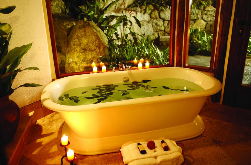 Inkaterra Machu Picchu Pueblo Hotel, Aguascalientes, Pérou, salle de bains