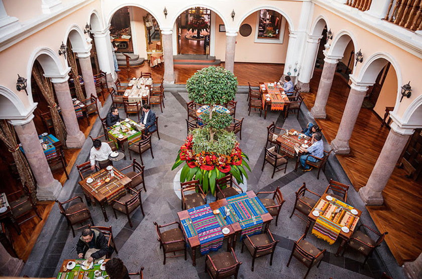 Patio Andaluz, Quito, Equateur, restaurant