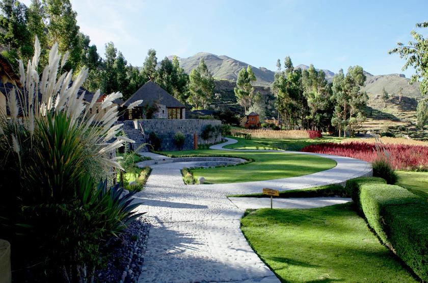 Colca Lodge, Pérou, jardin
