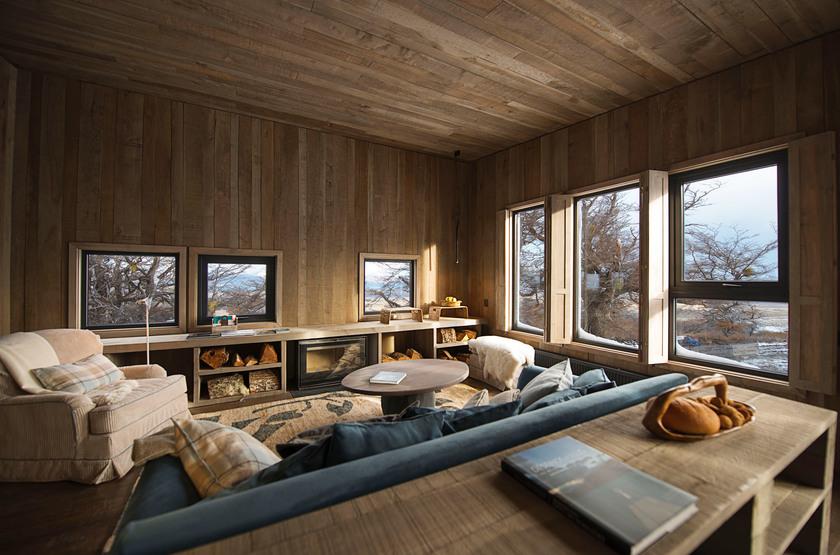 Awasi Lodge Patagonia, Torres del Paine, Chili, intérieur