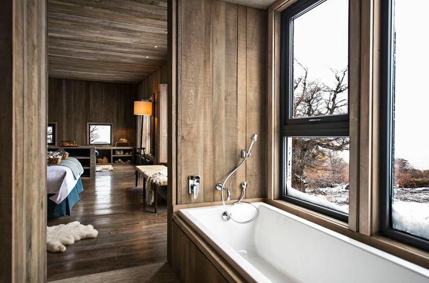 Awasi Lodge Patagonia, Torres del Paine, Chili, salle de bains