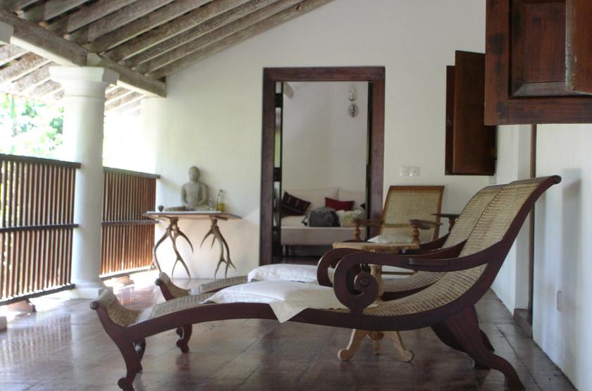 Kandy House Hotel, Sri Lanka, terrasse