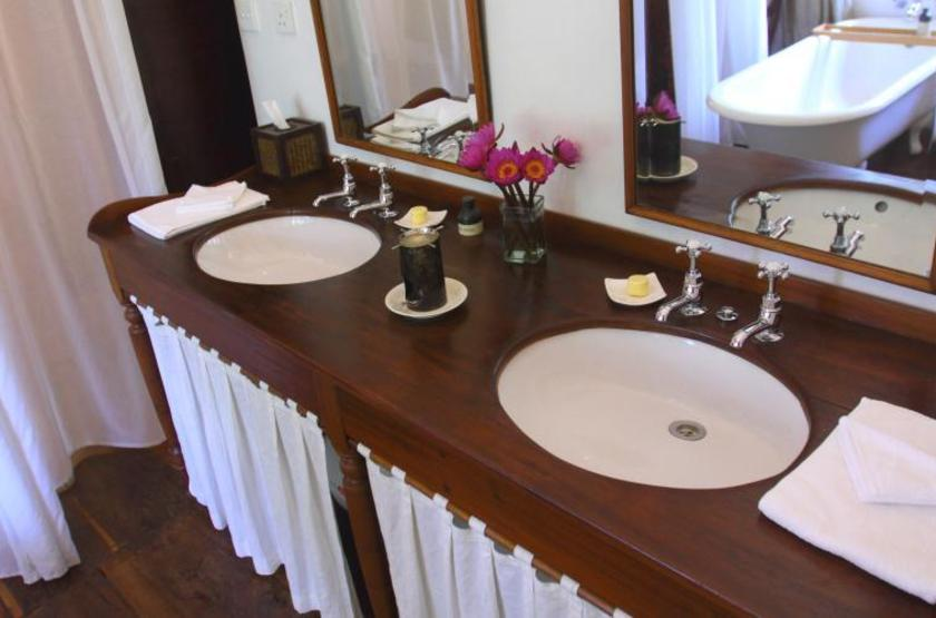 Kandy House Hotel, Sri Lanka, salle de bains
